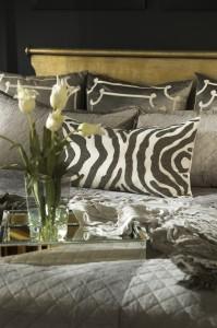 zebra luxury pillow interior design project orlando