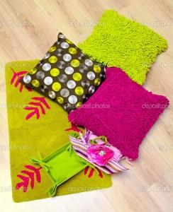 pink and green interior design idea orlando