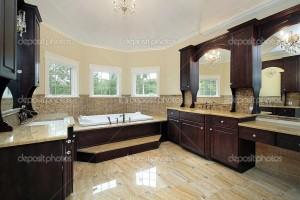 luxury bathroom interior design project in winter park