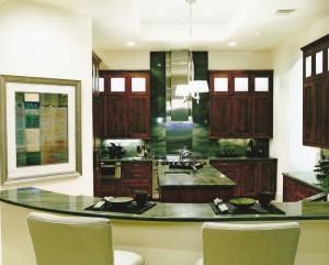 Granite kitchen interior design project orlando