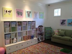 Childrens play room interior designer in orlando