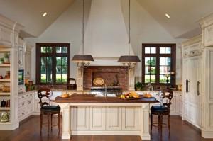 Cream kitchen interior designer winter park