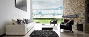 black and white interior deisgn