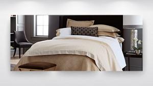 beautiful beddign for bedroom interior design project