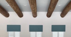 decorative ceiling beams in Orlando