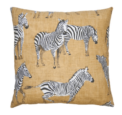 Kingdom Zebra pillow