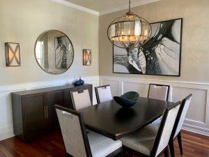 Contemporary Dining Room Update Orlando Florida